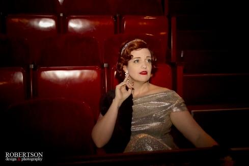 Jennifer C. - Film Noir shot