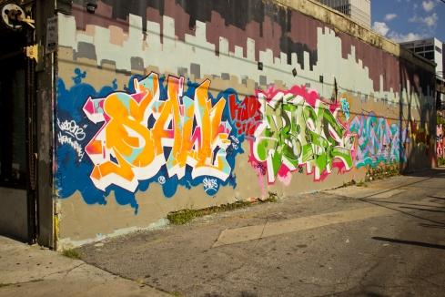 Graffiti of Atlanta.