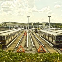 MARTA trainyard