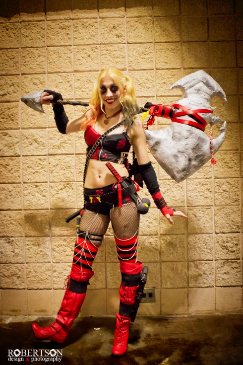 An awesome Harley Quinn by @2468poprocks